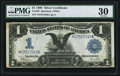 Large Size:Silver Certificates, Fr. 236 $1 1899 Silver Certificate PMG Very Fine 30.. ...
