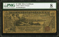 Large Size:Silver Certificates, Fr. 224 $1 1896 Silver Certificate PMG Very Good 8.. ...