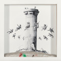 Collectible:Contemporary, Banksy X The Walled Off Hotel . Walled Off Hotel Box, 2017. Lithograph with concrete. 10 x 10 x 2 inches (25.4 x 25.4 x ...