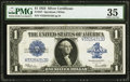 Large Size:Silver Certificates, Fr. 237 $1 1923 Silver Certificate PMG Choice Very Fine 35.. ...