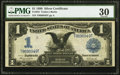 Large Size:Silver Certificates, Fr. 233 $1 1899 Silver Certificate PMG Very Fine 30.. ...