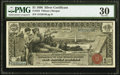 Large Size:Silver Certificates, Fr. 224 $1 1896 Silver Certificate PMG Very Fine 30.. ...
