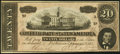 Confederate Notes, T67 $20 1864 PF-4 Cr. 506.. ...