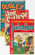 Golden Age (1938-1955):Humor, Comic Books - Assorted Golden Age Teen Humor Comics Group of 28 (Various Publishers, 1947-55) Condition: Average VG.... (Total: 28 Comic Books)