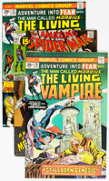 Bronze Age (1970-1979):Horror, Fear Group of 6 (Marvel, 1971-74) Condition: Average NM-....(Total: 6 Comic Books)