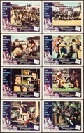 Movie Posters:Action, Samson and the Seven Miracles of the World & Others Lot (American International/Warner-Pathe, 1962). Lobby Card Set of 8 (11... (Total: 13 Items)