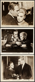 "Movie Posters:Hitchcock, Kim Novak in Vertigo (Paramount, 1958). Autographed Photos (3) (8""X 10""). Hitchcock.. ... (Total: 3 Items)"