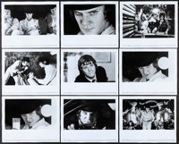 "A Clockwork Orange (Warner Brothers, 1971). Photos (9) (8"" X 10""). Science Fiction. ... (Total: 9 Items)"