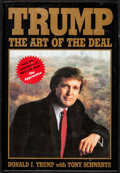 "Movie Posters:Miscellaneous, Trump: The Art of the Deal (Random House, 2004). Autographed Hardcover Book (246 Pages, 6.5"" X 9.5""). Miscellaneous.. ..."