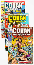 Bronze Age (1970-1979):Adventure, Conan the Barbarian Group of 6 (Marvel, 1970-71) Condition: Average FN+.... (Total: 6 )