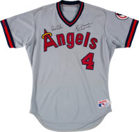 289931c41e7 1988 Gene Mauch Game Issued  amp  Signed California Angels Jersey