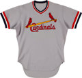 Baseball Collectibles:Uniforms, 1970's Ken Boyer Game Worn St. Louis Cardinals Old-Timers' Day Jersey. ...
