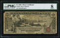 Large Size:Silver Certificates, Fr. 225 $1 1896 Silver Certificate PMG Very Good 8.. ...