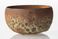 Ceramics & Porcelain, James Lovera (American, 1920-2015). Bowl, 1976. Glazed earthenware. 4-3/8 x 7-3/4 inches (11.1 x 19.7 cm). Incised to un...
