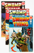 Bronze Age (1970-1979):Horror, Swamp Thing Group of 10 (DC, 1972-75) Condition: Average VF....(Total: 10 Comic Books)