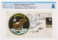 """Explorers:Space Exploration, Apollo 11 Crew-Signed """"Type Three"""" Insurance Cover Directly From The Armstrong Family Collection™, Certified and Encapsula..."""