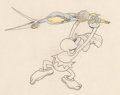 Animation Art:Production Drawing, Mickey's Man Friday Friday Animation Drawing (Walt Disney1935). ...