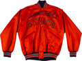 Baseball Collectibles:Others, 1972-73 Leo Durocher Game Worn Houston Astros Jacket - Rare Style. ...