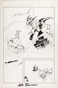 Original Comic Art:Miscellaneous, John Buscema Conan the Rogue Preliminary Artwork OriginalArt (Marvel, 1991)....