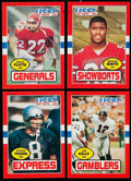 Football Cards:Sets, 1985 Topps USFL Football Complete Set (132). ...