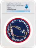Explorers:Space Exploration, Apollo 9: Neil Armstrong's Personally-Owned Mission Insignia Variant Crew Patch Directly From The Armstrong Family Collect...