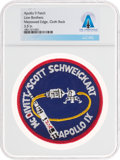 Explorers:Space Exploration, Apollo 9: Neil Armstrong's Personally-Owned Lion Brothers Mission Insignia Patch Directly From The Armstrong Family Collec...
