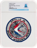 Explorers:Space Exploration, Apollo 15: Neil Armstrong's Personally-Owned Lion Brothers Mission Insignia Patch Directly From The Armstrong Family Colle...