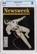 Explorers:Space Exploration, Gemini 4: The Newsweek Magazine Dated June 14, 1965, Sent to Armstrong's Texas Home Address, Directly From The...