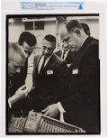 Explorers:Space Exploration, Gemini: Large NASA Photo of Neil Armstrong and Gus Grissom Directly From The Armstrong Family Collection™, Certified and Encap...