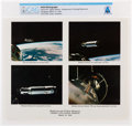 Explorers:Space Exploration, Gemini 8: NASA Mission Rendezvous and Docking Highlights Color Photo Directly From The Armstrong Family Collection™, Certified...