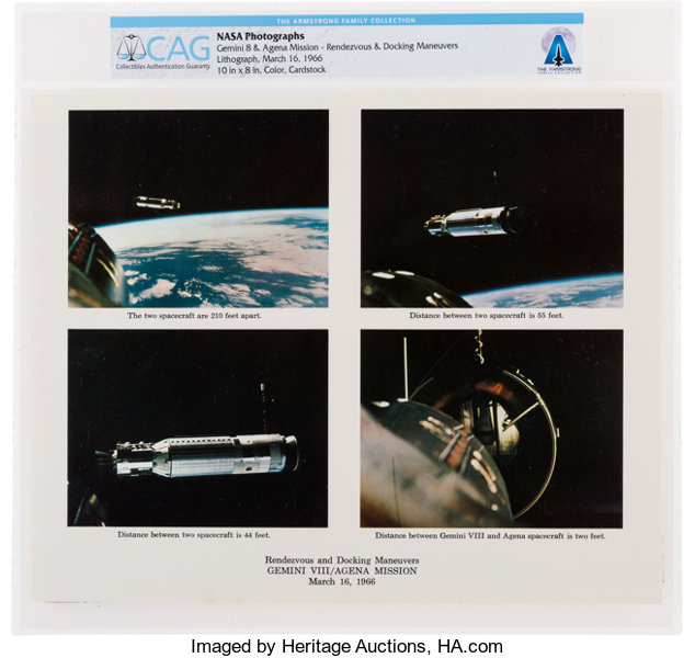7e138cf690 Gemini 8  NASA Mission Rendezvous and Docking Highlights