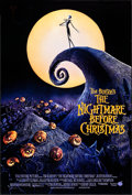 "Movie Posters:Animation, The Nightmare Before Christmas (Touchstone, 1993). One Sheet (27"" X 40"") DS. Animation.. ..."