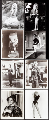 "Brigitte Bardot Lot (Various, 1950s-1960s). Photos (21) (Approximately 7.25"" X 9.25"" - 8"" X 10""). Mi..."