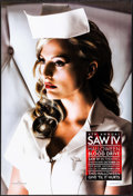 """Movie Posters:Horror, Saw IV Blood Drive Poster & Other Lot (Lionsgate, 2007).Rolled, Overall: Very Fine. One Sheets (5) (27"""" X 40"""" & 26.75""""X 39... (Total: 5 Items)"""