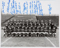 Football Collectibles:Photos, 1956 Green Bay Packers Multi-Signed Photograph (Reunion). ...