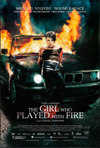 """The Girl Who Played with Fire (Music Box Films, 2010). One Sheet (27"""" X 40"""") DS"""