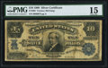 Large Size:Silver Certificates, Fr. 303 $10 1908 Silver Certificate PMG Choice Fine 15.. ...