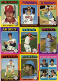 Baseball Cards:Sets, 1975 Topps Baseball Complete Set (660). The 1975 Topps baseball series consists of 660 cards and was a collector favorite fr...