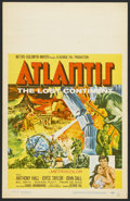 "Movie Posters:Adventure, Atlantis, the Lost Continent (MGM, 1961). Window Card (14"" X 22"").Adventure...."