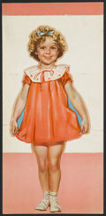 """Movie Posters:Miscellaneous, Shirley Temple Lot (Fox, Circa 1935). Paper Doll (7"""" X 16""""). Miscellaneous...."""