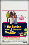 "Movie Posters:Animated, Yellow Submarine (United Artists, 1968). Window Card (14"" X 22""). Animated...."
