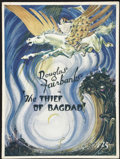 Movie Posters:Adventure, The Thief of Bagdad (United Artists, 1924). Program (MultiplePages). Adventure....