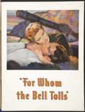 """Movie Posters:Drama, For Whom the Bell Tolls (Paramount, 1943). Program (Multiple Pages) (9"""" X 12""""). Drama...."""