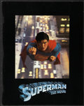 """Movie Posters:Action, Superman the Movie (Warner Brothers, 1978). Program (Multiple Pages) (8.5"""" X 11""""). Action...."""