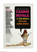 """Movie Posters:Adventure, Casino Royale (Columbia, 1967). One Sheet (27"""" X 41""""). This is avintage, theater-used poster for this comedy/spy adventure ..."""