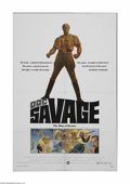 """Movie Posters:Adventure, Doc Savage (Warner Brothers, 1975). One Sheet (27"""" X 41""""). This isa folded, vintage, theater-used poster for this adventure..."""
