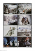 """Movie Posters:Science Fiction, The Empire Strikes Back (20th Century Fox, 1980). Lobby Card Set of8 (11"""" X 14""""). This is a vintage, theater-used lobby car... (8items)"""