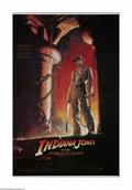 "Movie Posters:Adventure, Indiana Jones and the Temple of Doom (Paramount, 1984). One Sheet(27"" X 41""). This is a folded, vintage, theater-used poste..."