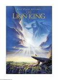 "Movie Posters:Animated, The Lion King (Buena Vista, 1994). One Sheet (27"" X 41""). This is a vintage, theater-used advance poster for this animated D..."
