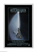 """Movie Posters:Science Fiction, Return of the Jedi (20th Century Fox, 1983). One Sheet (27"""" X 41""""). This is a folded, vintage, theater-used poster from this..."""